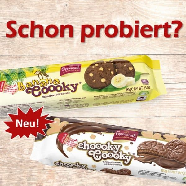 Banana Coooky Choooky Coooky Coppenrath Feingebäck